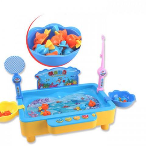 Bộ đồ chơi câu cá điện tử phát nhạc cho bé