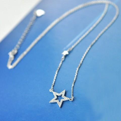 Dây chuyền bạc mặt ngôi sao