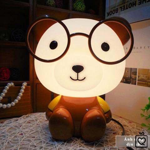 Đèn ngủ cho bé hình gấu vàng
