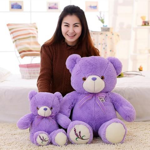 Gấu bông Lavender phát sáng
