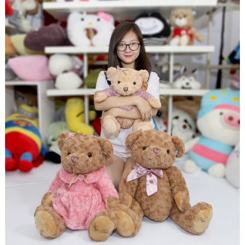 Gấu teddy bear (girl)