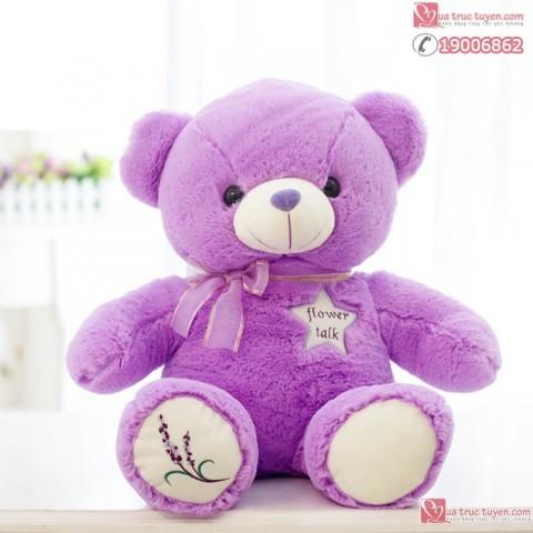 Gấu bông Teddy Lavender-1m2