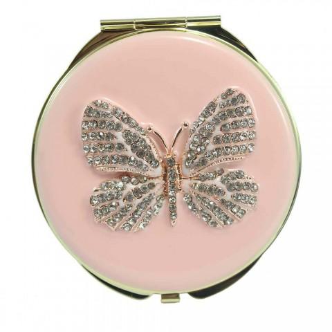Gương trang điểm hình cánh bướm - mới