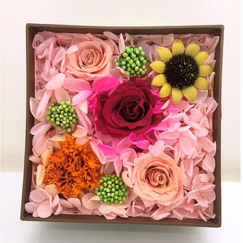 Hoa hồng bất tử - Hộp gift set 3 bông đỏ hồng