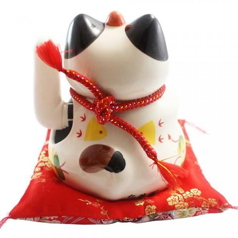 Mèo vẫy tay - Hoa khai phú quý SW357