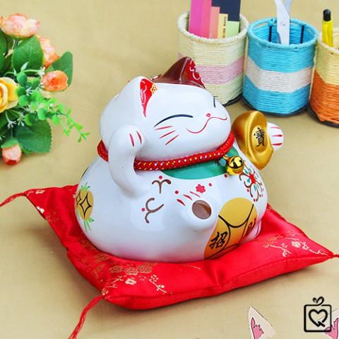 Mèo thần tài tiền vàng may mắn size nhỏ SW 0905