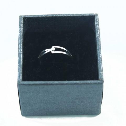 Nhẫn bạc móc nối Nữ