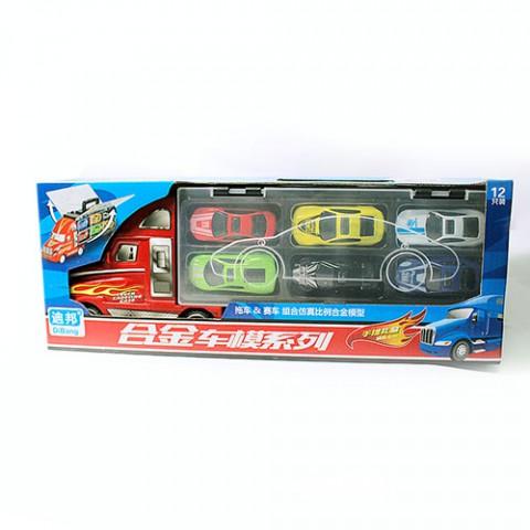 Bộ ô tô đồ chơi 12 xe