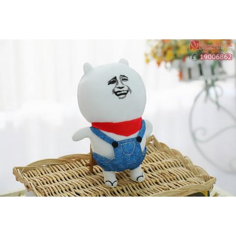 Gấu bông Troll face