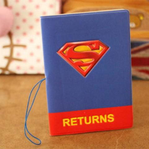 Vỏ bọc hộ chiếu 3D Superman