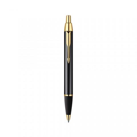 Bút bi Parker IM Black cài vàng