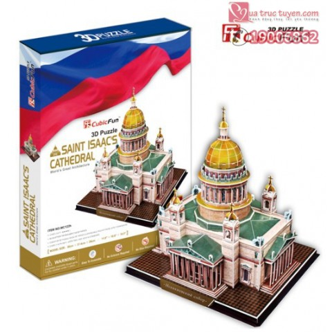 xep-hinh-3D-nha-tho-thanh-Isaac-Saint-Petersburg-Mc122h-3