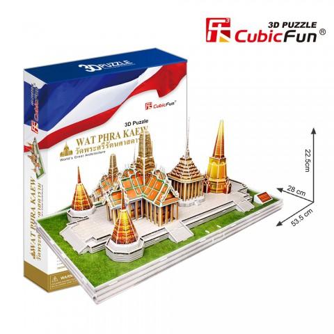 Xếp hình 3D - Đền Wat Phra Kew - MC124h