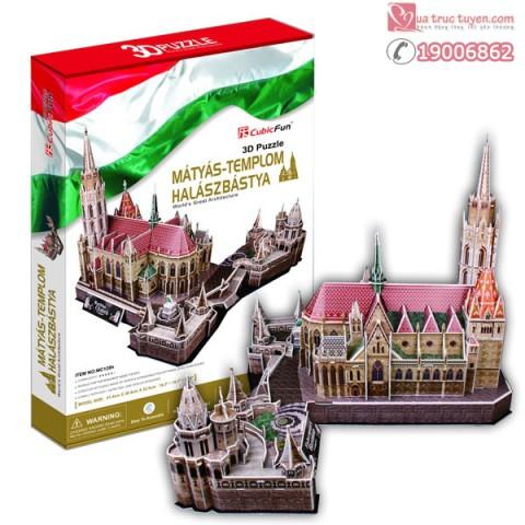 xep-hinh-3d-phao-dai-nguoi-danh-ca-halaszbastya-Hungary-Mc128h-1