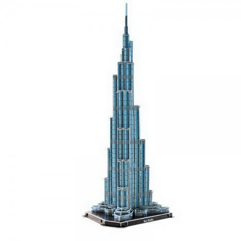 Xếp hình 3D - tháp Buji Khalifa MC133H