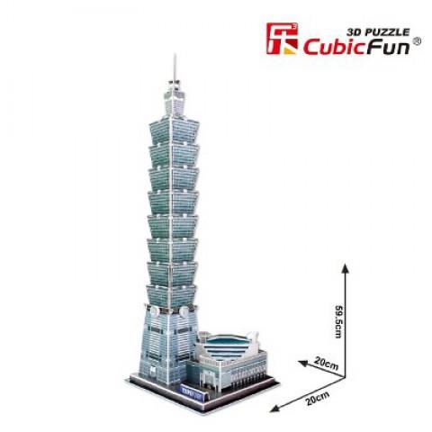 Xếp hình 3D – Tòa nhà đài bắc - MC085h